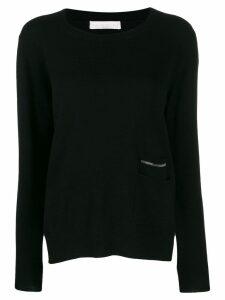 Fabiana Filippi fine knit jumper - Black