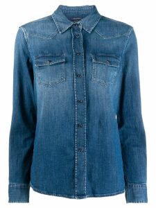 Jacob Cohen relaxed-fit denim shirt - Blue