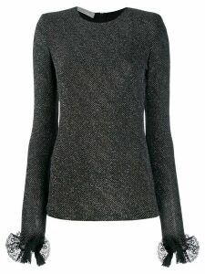 Philosophy Di Lorenzo Serafini structured knit top - Black