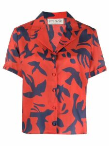 Être Cécile Bird Maud shirt - Red