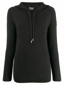 Barbour basic knit hoodie - Grey