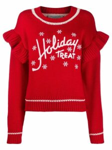 Philosophy Di Lorenzo Serafini Holiday Treat knitted jumper - Red