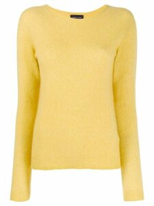 Roberto Collina knitted round neck sweatshirt - Yellow