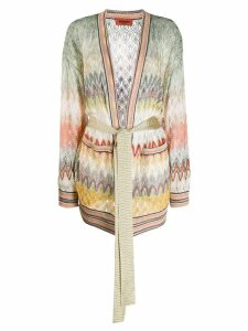 Missoni patterned knit cardigan - NEUTRALS