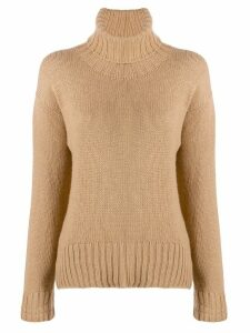 Jejia rollneck knit sweater - NEUTRALS