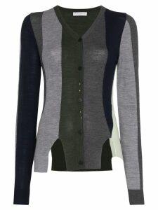 JW Anderson V-neck stripe cardigan - Blue