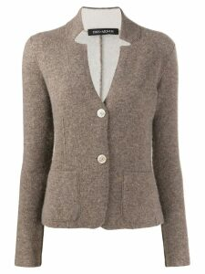 Iris Von Arnim collar cut-out cashmere cardigan - Neutrals