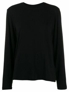 Mm6 Maison Margiela classic crew-neck jumper - Black