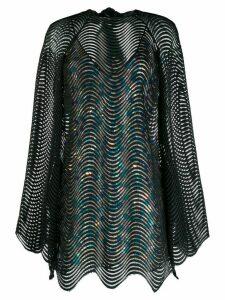 Marco De Vincenzo layered mini dress - Black