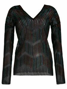 M Missoni v-neck sweatshirt - Black