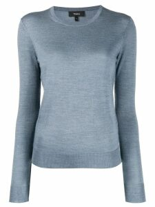 Theory crewneck jumper - Blue