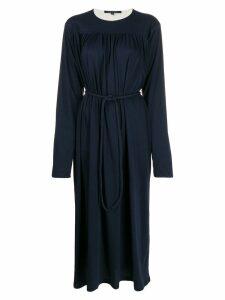 Sofie D'hoore gathered midi dress - Blue