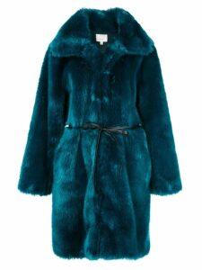 Cinq A Sept Sara oversized coat - Blue