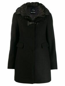 Fay waterproof hood coat - Black