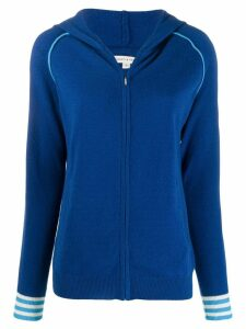 Chinti and Parker zipped hoodie - Blue