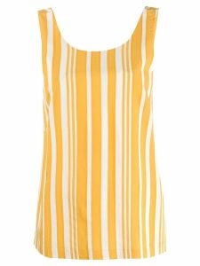 Chinti & Parker striped tank top - Yellow
