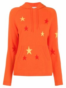 Chinti & Parker knitted hoodie - Orange