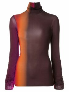 Ellery Brut turtleneck sweatshirt - Multicolour