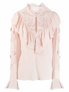 See By Chloé ruffled blouse - PINK