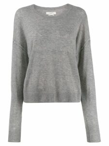 Isabel Marant Étoile round neck knitted sweater - Grey