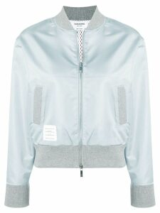 Thom Browne Center Back Ripstop Bomber - Grey
