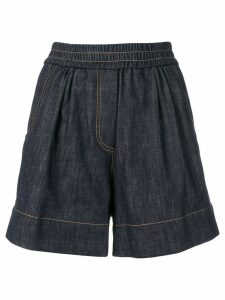 Brunello Cucinelli short denim shorts - Blue