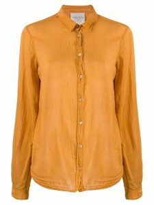 Forte Forte crease effect shirt - ORANGE