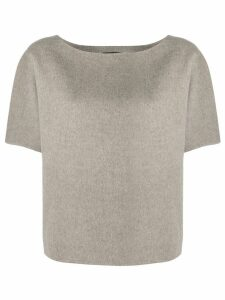 Theory round neck top - Grey