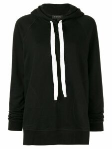 Lee Mathews loose-fit Barclay hoodie - Black