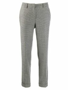 Fabiana Filippi houndstooth trousers - Grey