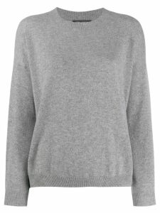 Iris Von Arnim classic relaxed-fit sweater - Grey