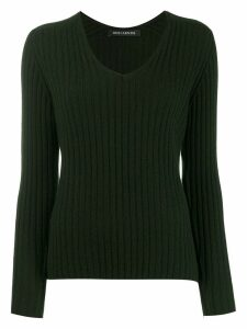 Iris Von Arnim long-sleeve fitted sweater - Green