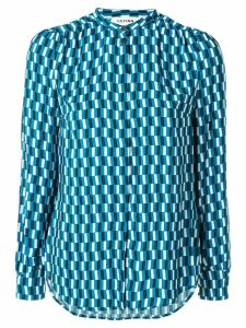 Cefinn geometric print shirt - Blue