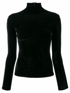Richard Quinn roll neck jumper - Black
