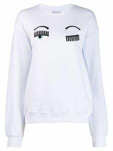 Chiara Ferragni Flirting jumper - White