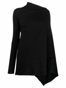Marques'Almeida asymmetric sweater - Black
