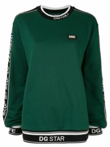 Dolce & Gabbana slogan knitted sweater - Green