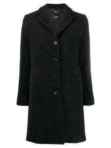 Paltò single breasted coat - Black