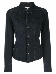Diesel slim-fit denim shirt - Black