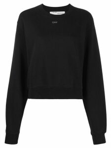 Off-White embellished Arrows sweatshirt - Black