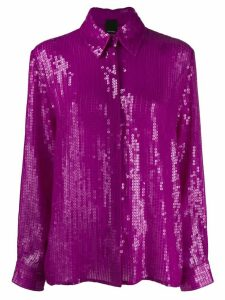Pinko sequin shirt - PURPLE