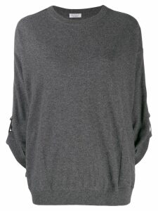 Brunello Cucinelli loose-fit cashmere jumper - Grey