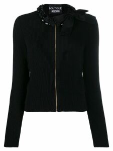 Boutique Moschino chain-embellished sweater - Black