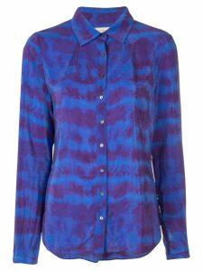 Nicole Miller tie-dye blouse - Blue