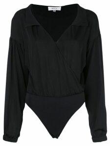 Milly leotard blouse - Black