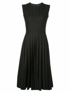 Oscar de la Renta ribbed midi dress - Black