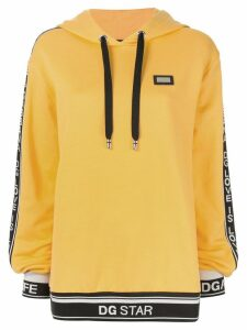 Dolce & Gabbana hooded sweatshirt - Yellow