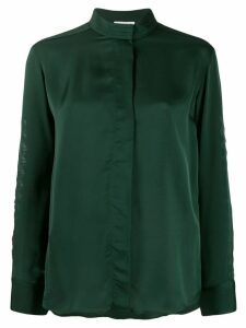 Sandro Paris round neck blouse - Green