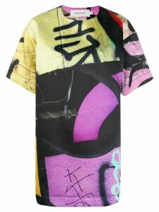 Marques'Almeida graffiti print T-shirt - Black