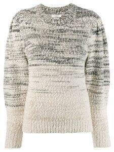 Isabel Marant Étoile chunky knit jumper - NEUTRALS